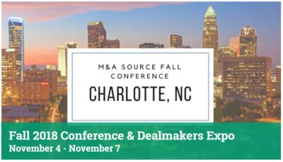 M&A Source Fall 2018 Conference