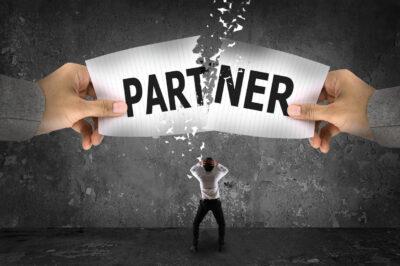 Business partner breakup