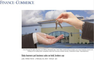Finance & Commerce Baby Boomer Article