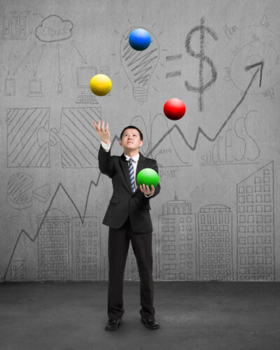 Juggling Man, Buying a Business with Hodgepodge Product Lines