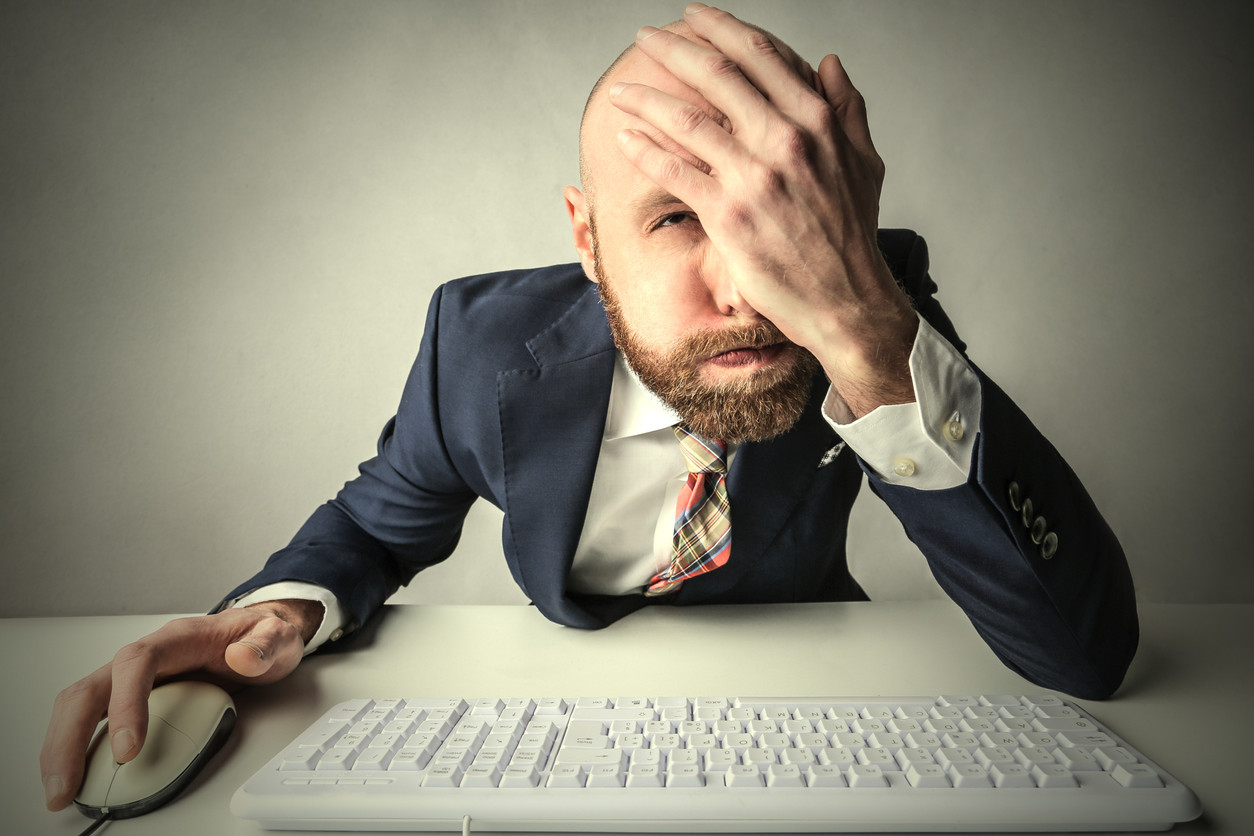 Man at Keyboard, How to Screw Up the Sale of Your Business