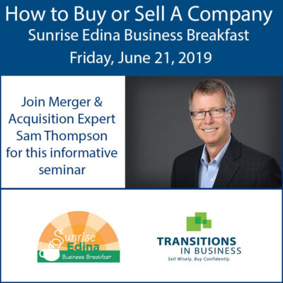 How to Buy or Sell a Company - Sam Thompson