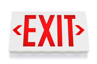 Exit Sign, Selling Your Business While Ahead